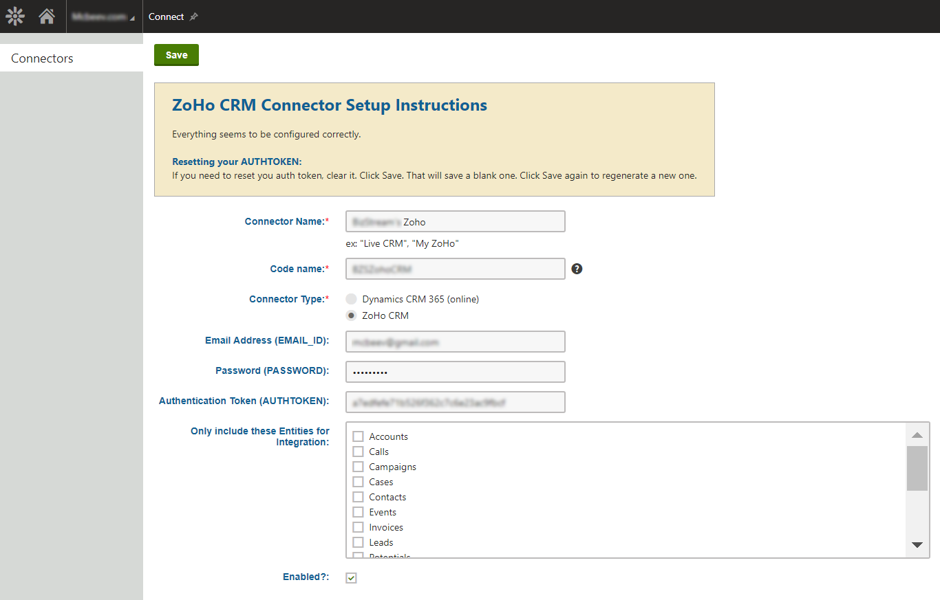 Easily connect forms to CRM