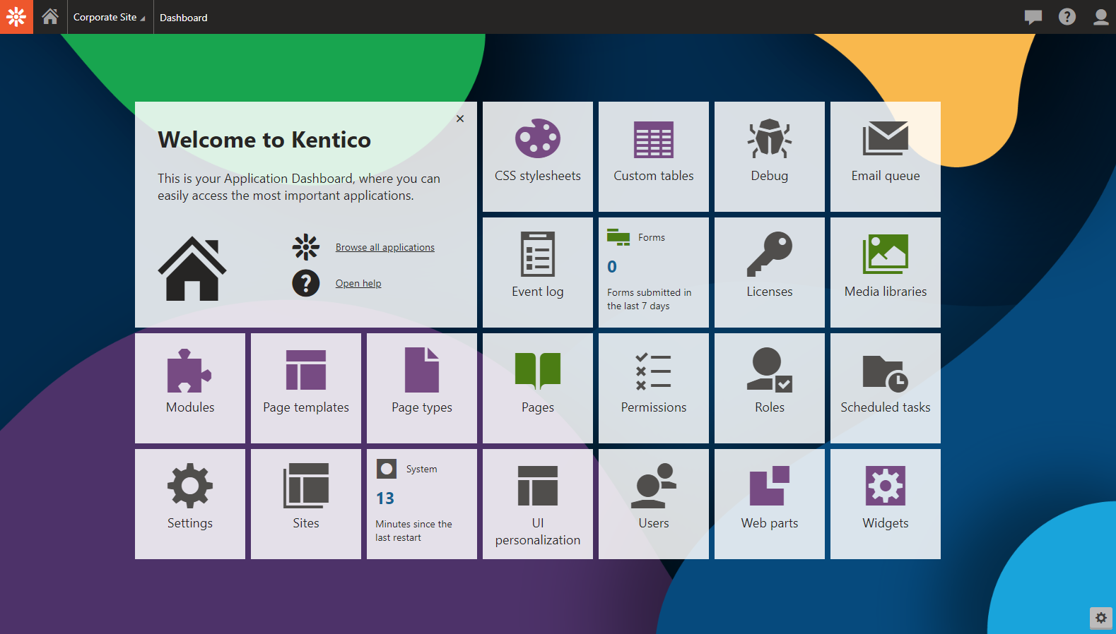 Constant Care for Kentico